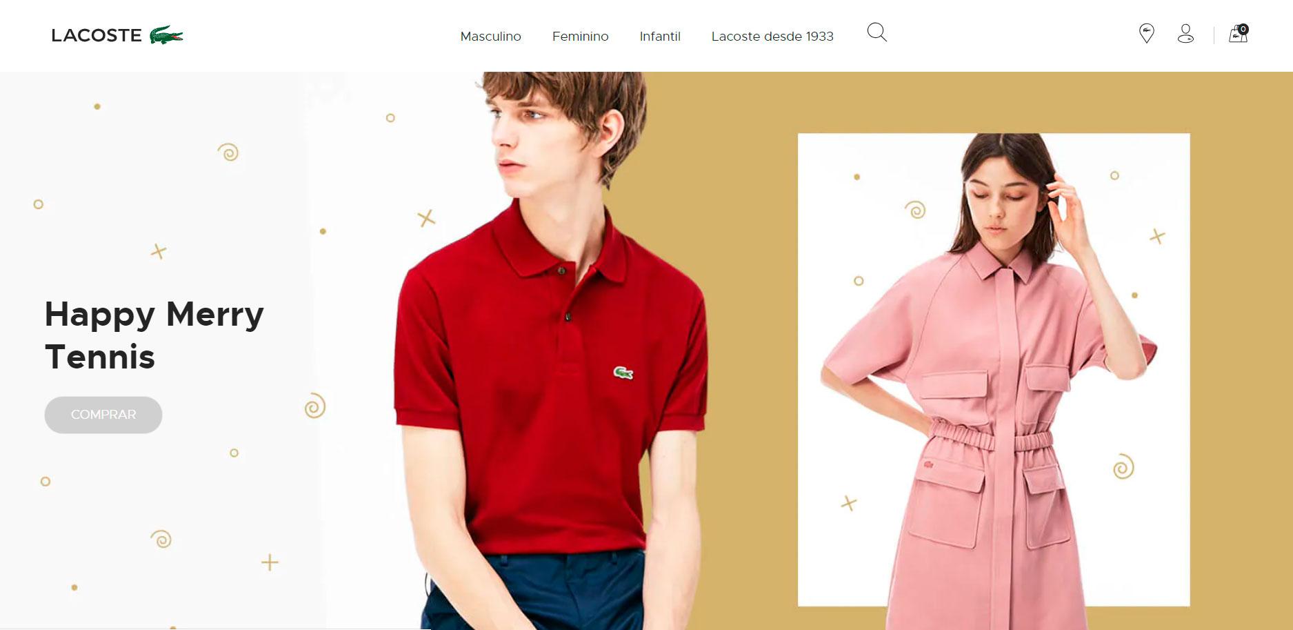 97af7be5e4d Lacoste lança e-commerce e traz opções para presentear toda a ...