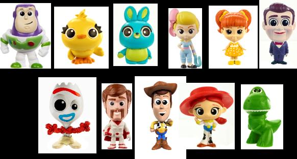 Toy Story sortimento mini figuras de ação