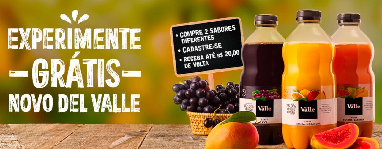 """Coca-Cola lança ação """"Experimente Grátis Novo Del Valle""""   : : CidadeMarketing : :"""