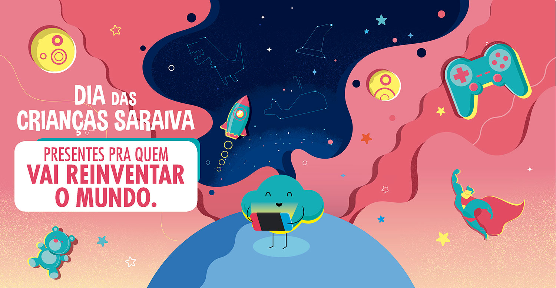 Saraiva cria ação promocional para o Dia das Crianças | : : CidadeMarketing : :