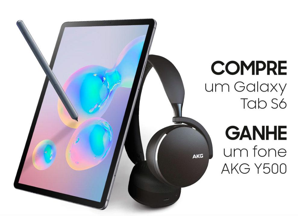 Samsung cria promoção em venda do tablet Galaxy Tab S6 | : : CidadeMarketing : :