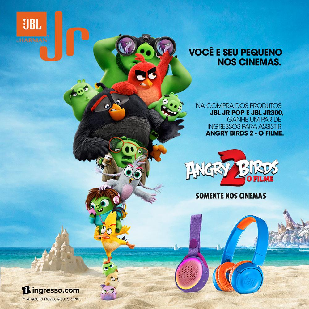 JBL e o filme Angry Birds 2 fecham parceria no mês das crianças | : : CidadeMarketing : :