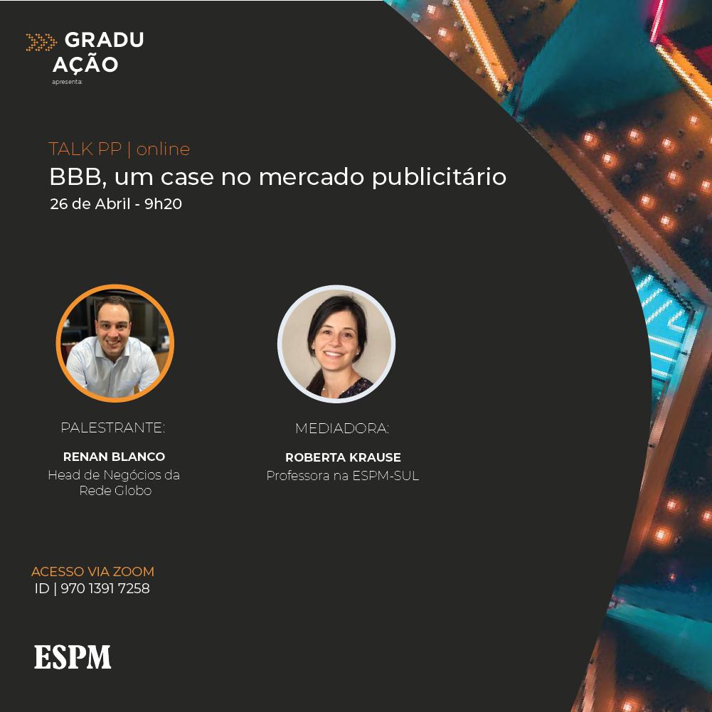 ESPM debate BBB com head de Negócios da Rede Globo | : : CidadeMarketing : :